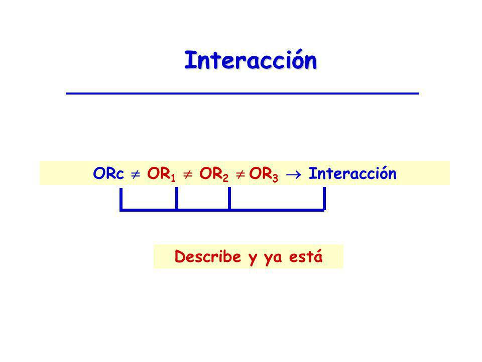 ORc  OR1  OR2  OR3  Interacción