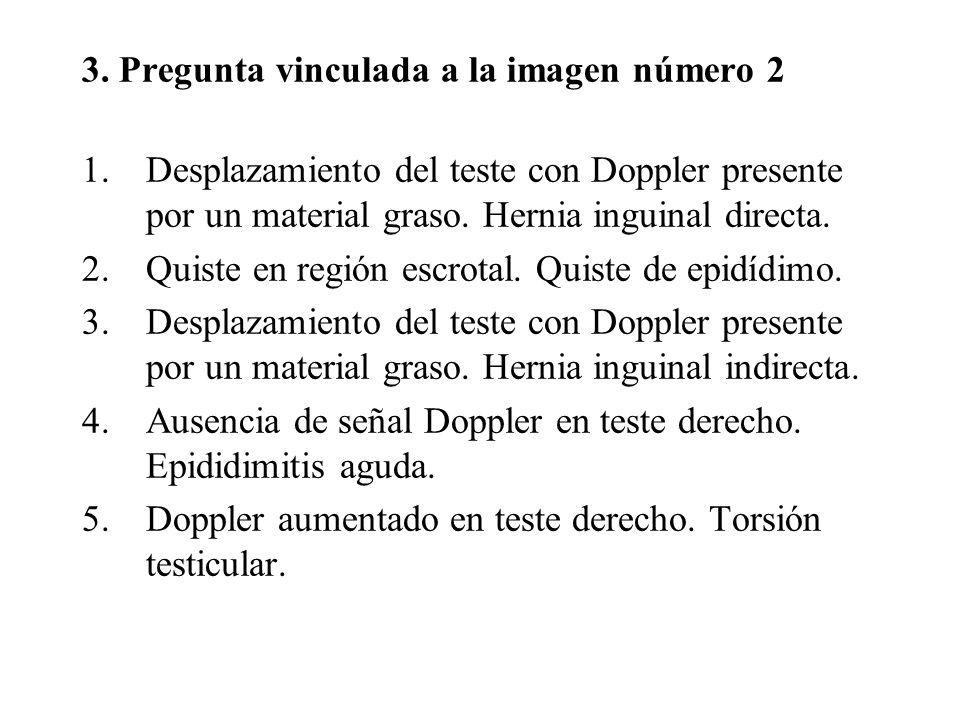 3. Pregunta vinculada a la imagen número 2