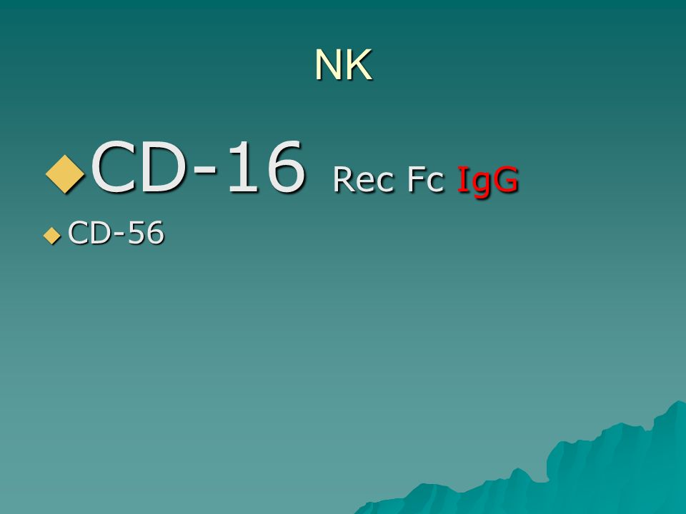 NK CD-16 Rec Fc IgG CD-56