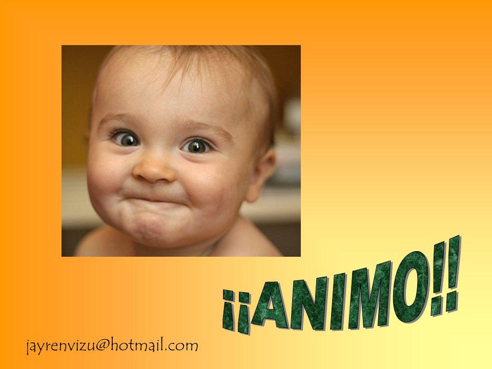 ¡¡ANIMO!! jayrenvizu@hotmail.com