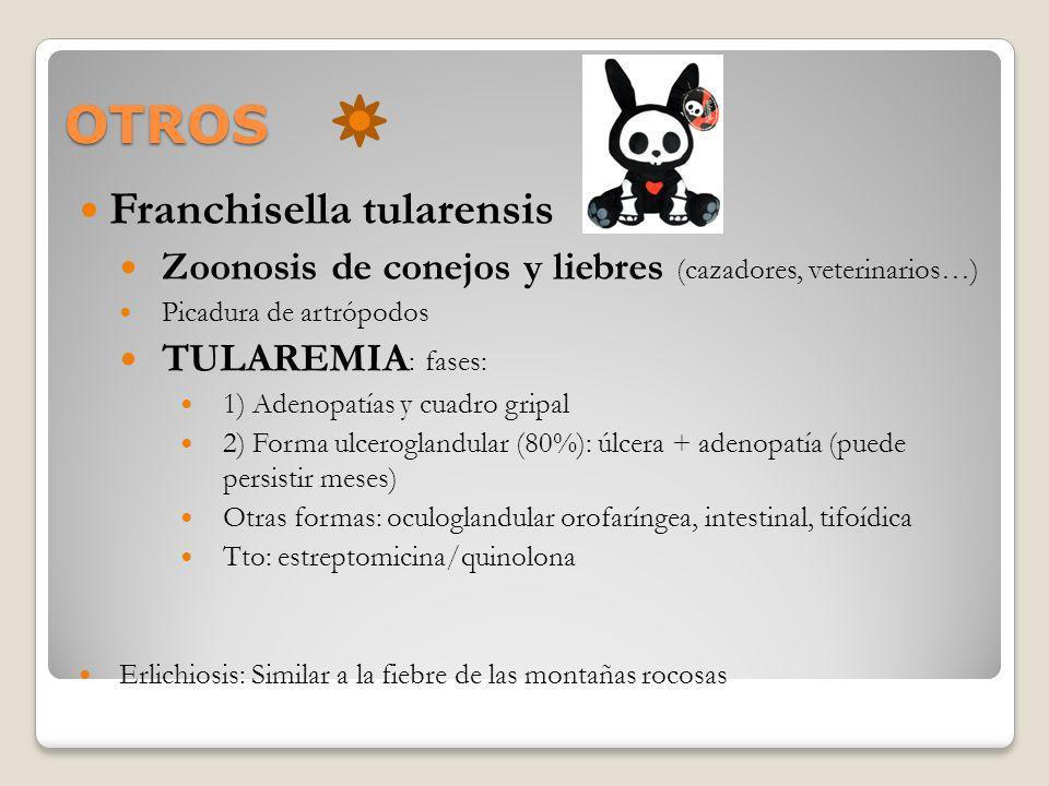 OTROS Franchisella tularensis