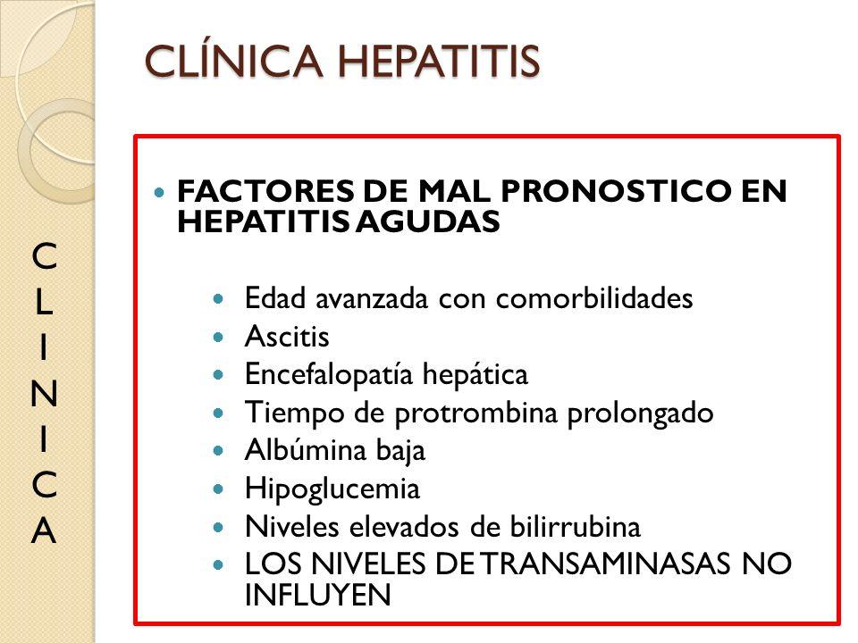 CLÍNICA HEPATITIS C L I N A