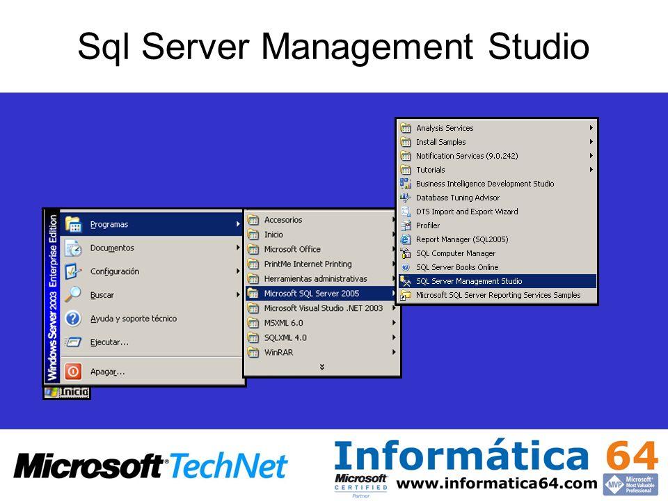 Sql Server Management Studio