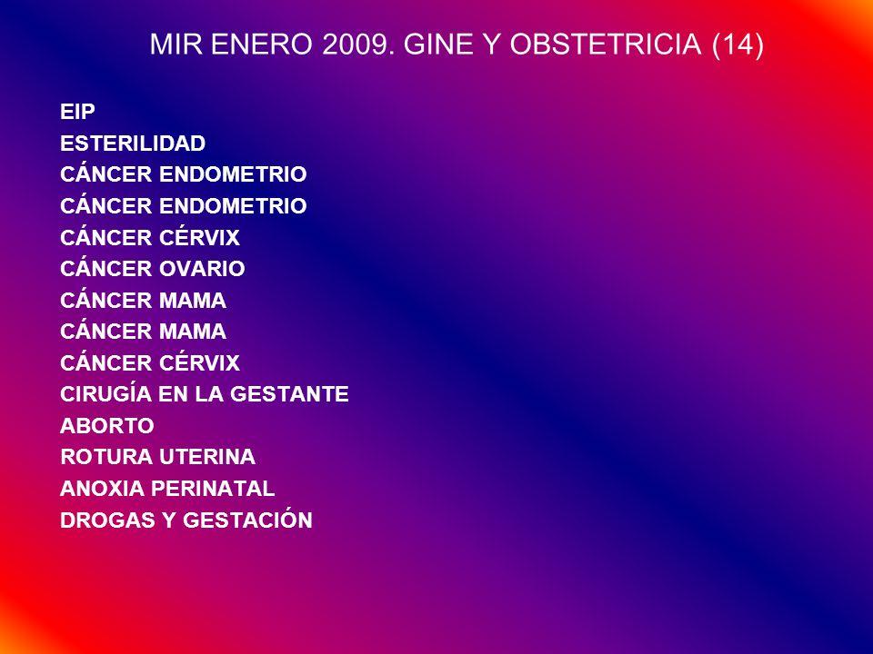 MIR ENERO 2009. GINE Y OBSTETRICIA (14)