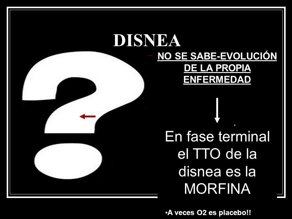 NO SE SABE-EVOLUCIÓN DE LA PROPIA ENFERMEDAD