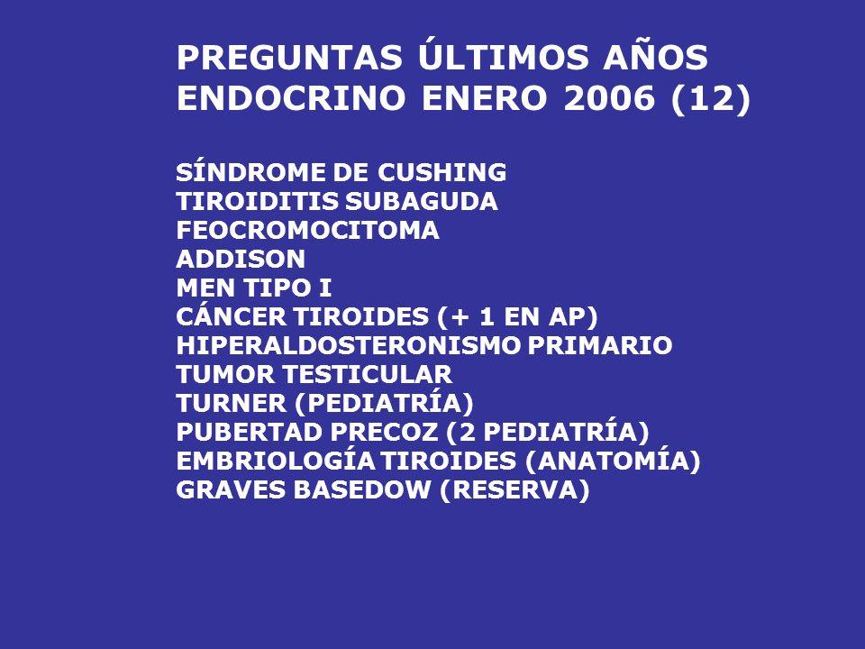 PREGUNTAS ÚLTIMOS AÑOS ENDOCRINO ENERO 2006 (12)