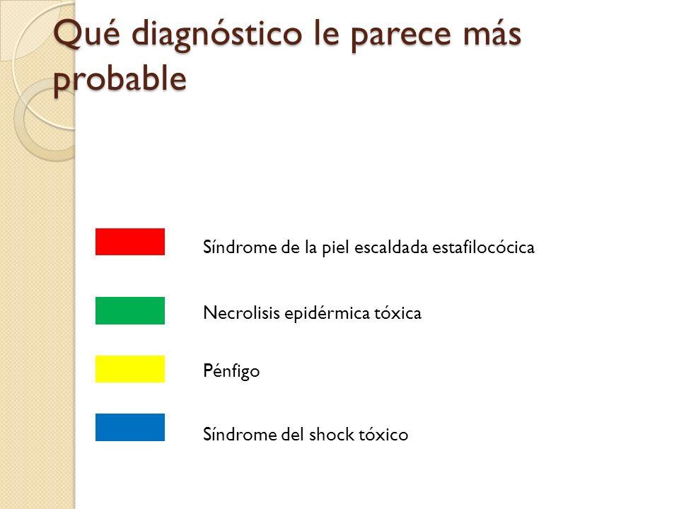 Qué diagnóstico le parece más probable