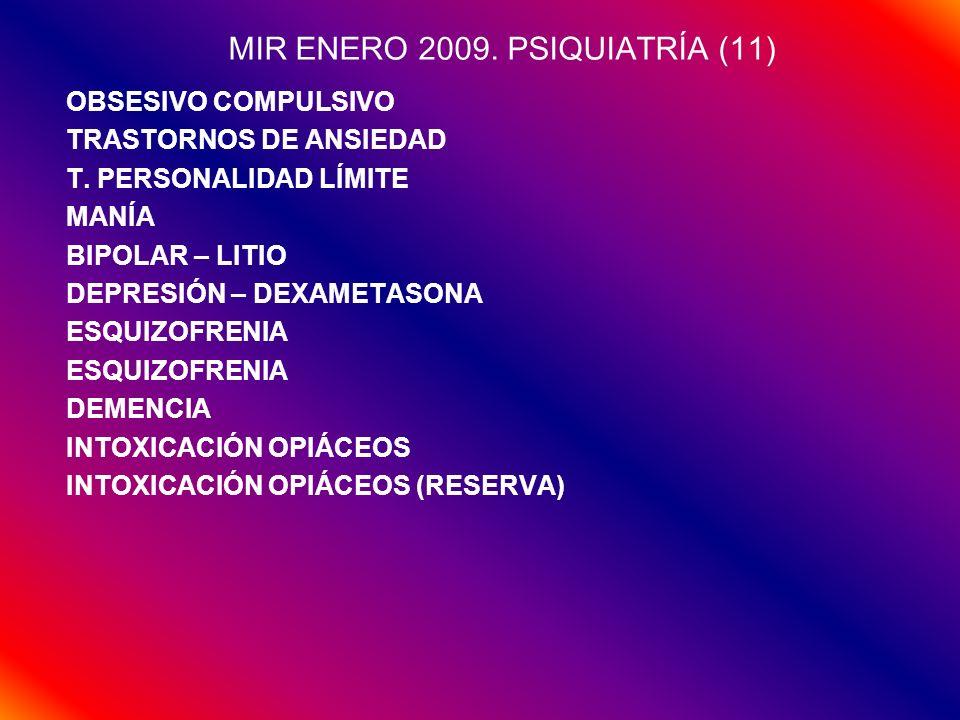 MIR ENERO 2009. PSIQUIATRÍA (11)
