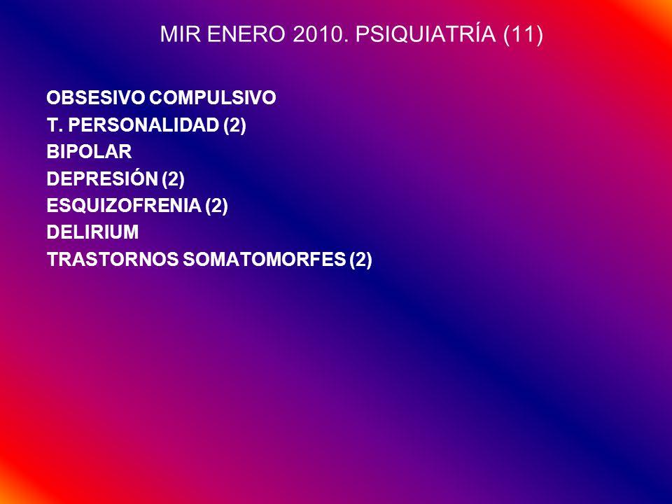 MIR ENERO 2010. PSIQUIATRÍA (11)