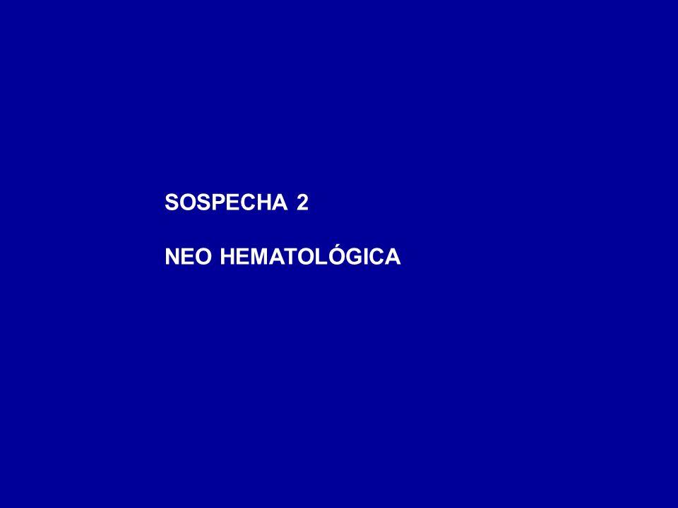 SOSPECHA 2 NEO HEMATOLÓGICA