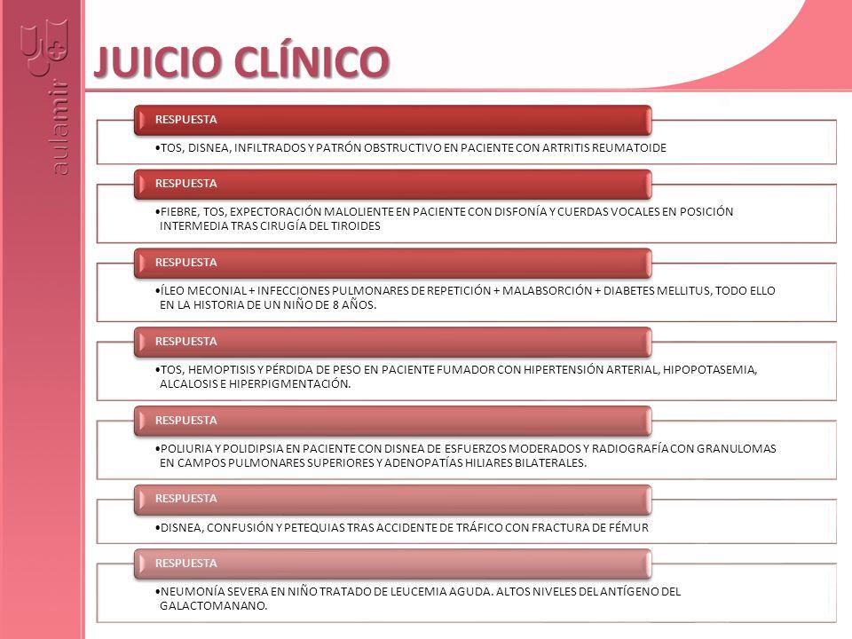 JUICIO CLÍNICO RESPUESTA