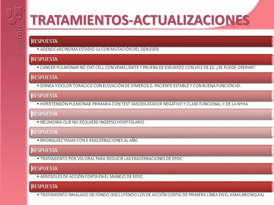 TRATAMIENTOS-ACTUALIZACIONES