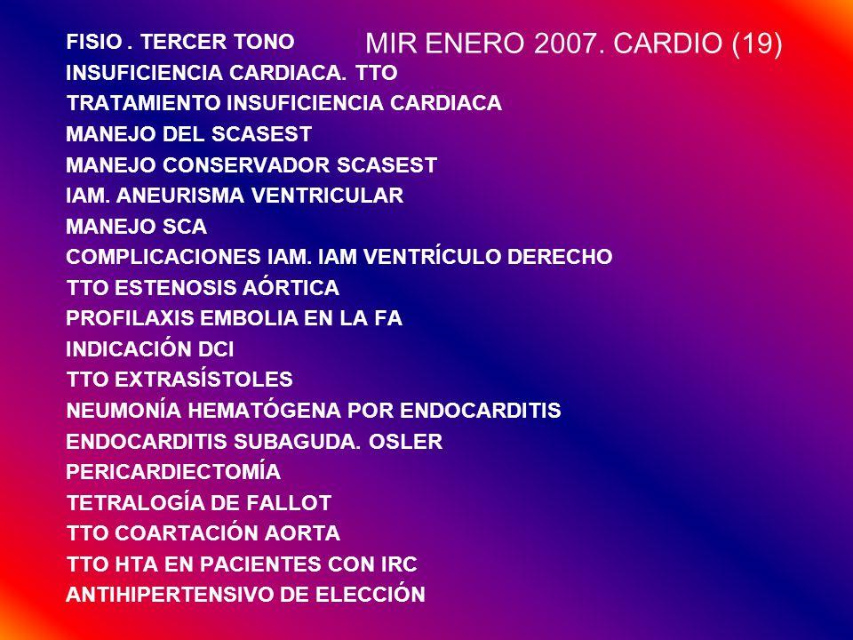 MIR ENERO 2007. CARDIO (19) FISIO . TERCER TONO