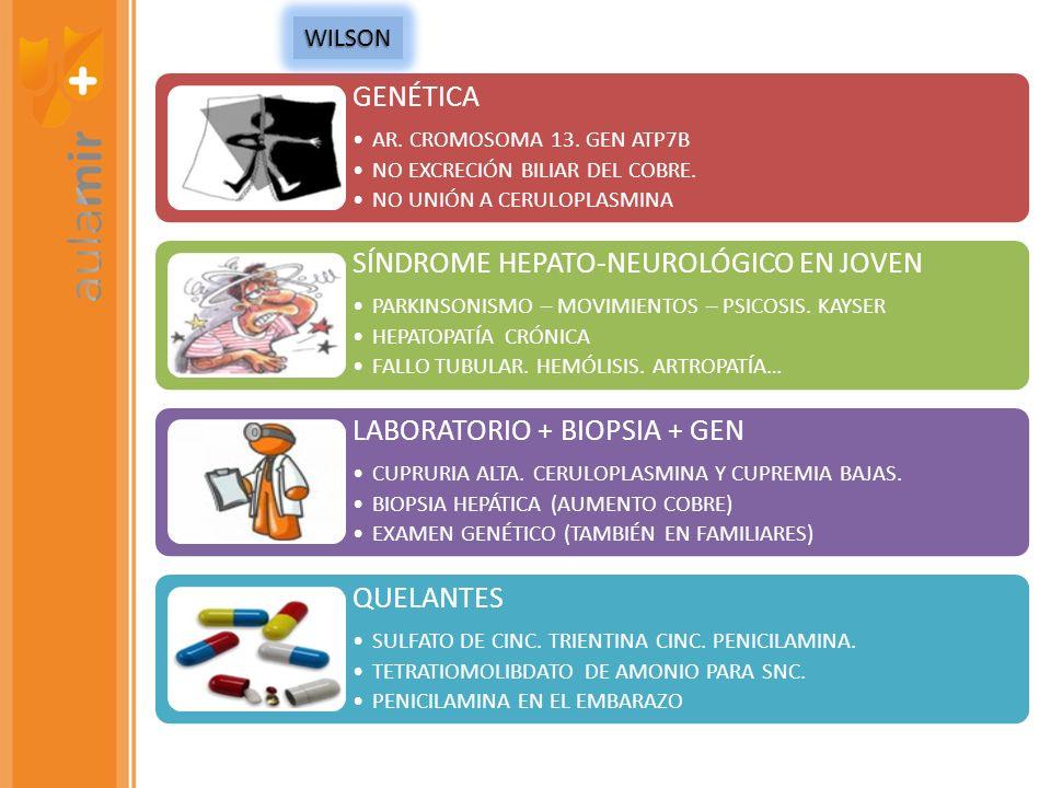SÍNDROME HEPATO-NEUROLÓGICO EN JOVEN