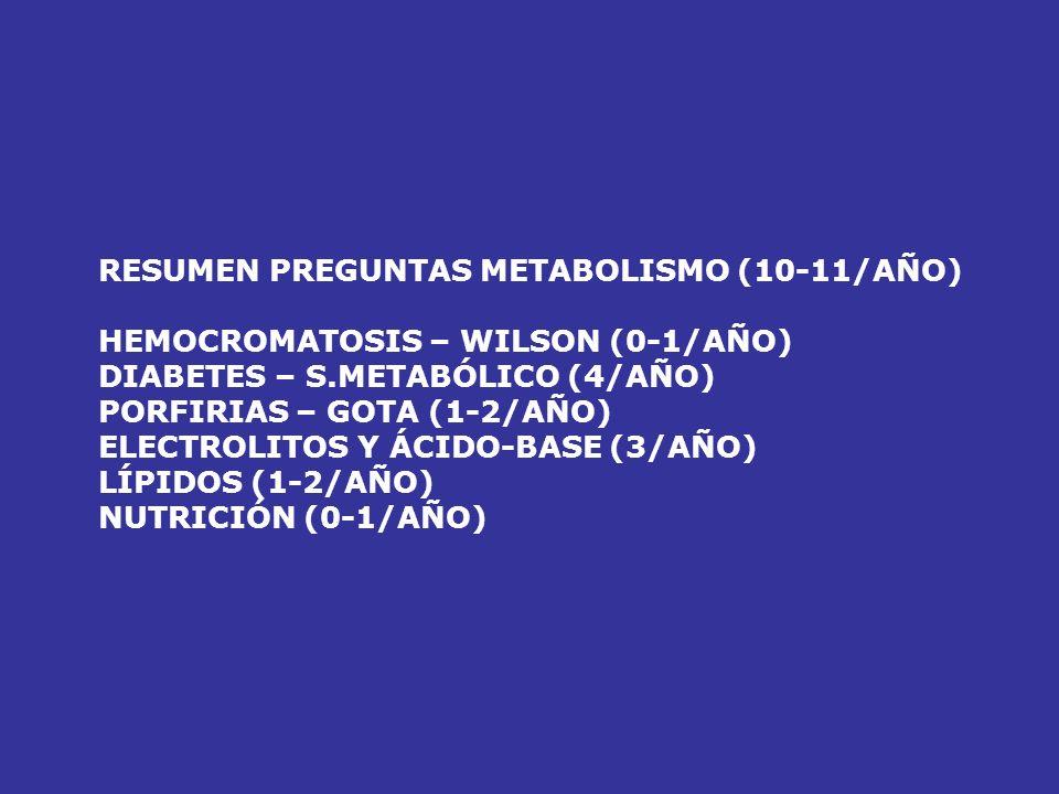 RESUMEN PREGUNTAS METABOLISMO (10-11/AÑO)