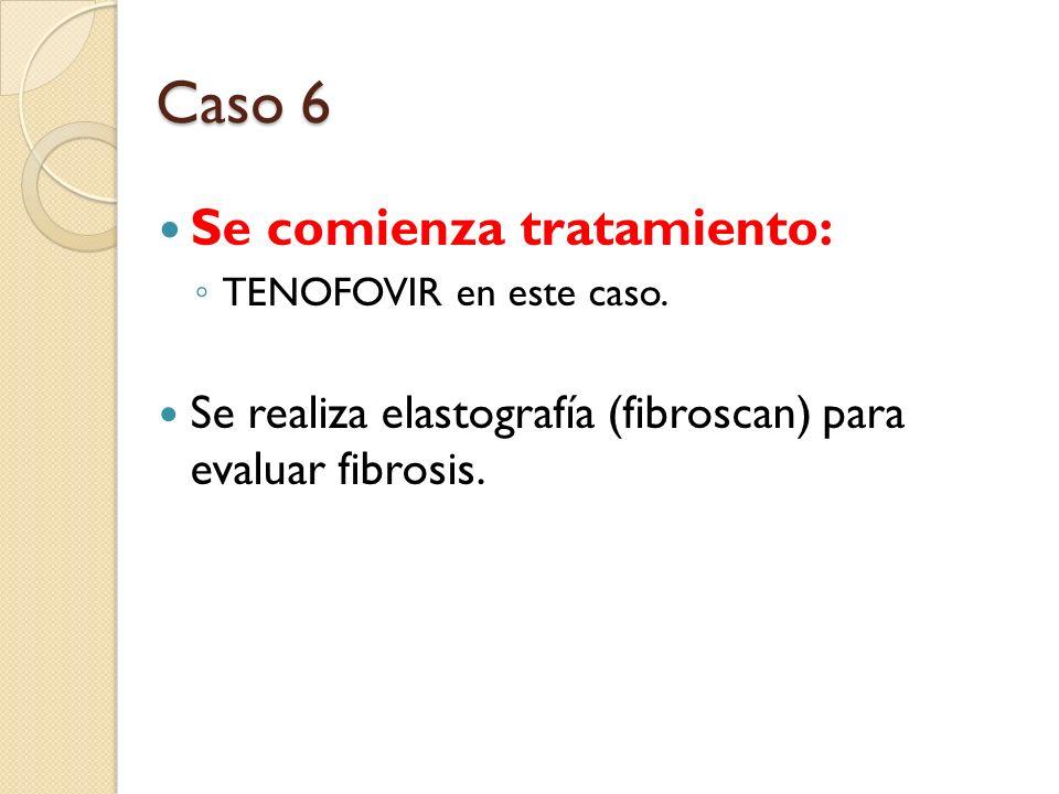 Caso 6 Se comienza tratamiento: