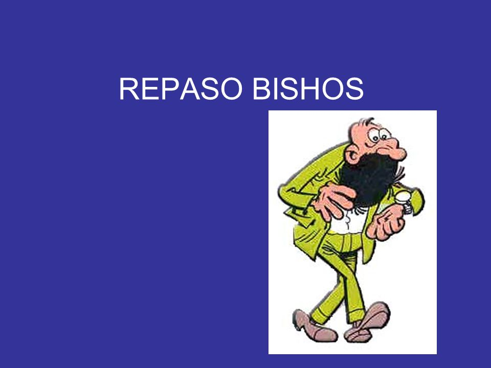 REPASO BISHOS