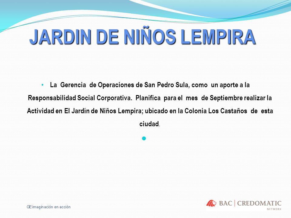 JARDIN DE NIÑOS LEMPIRA