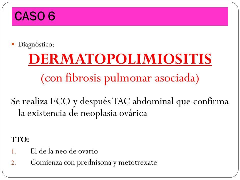 (con fibrosis pulmonar asociada)