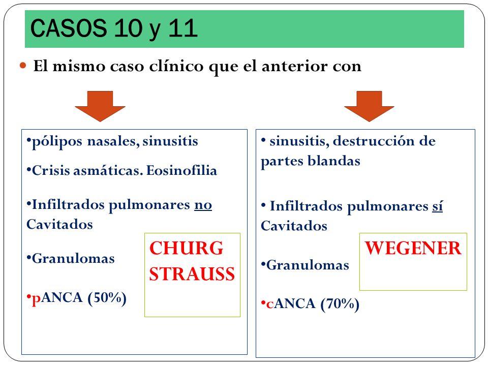 CASOS 10 y 11 CHURG STRAUSS WEGENER