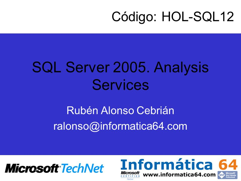 SQL Server 2005. Analysis Services