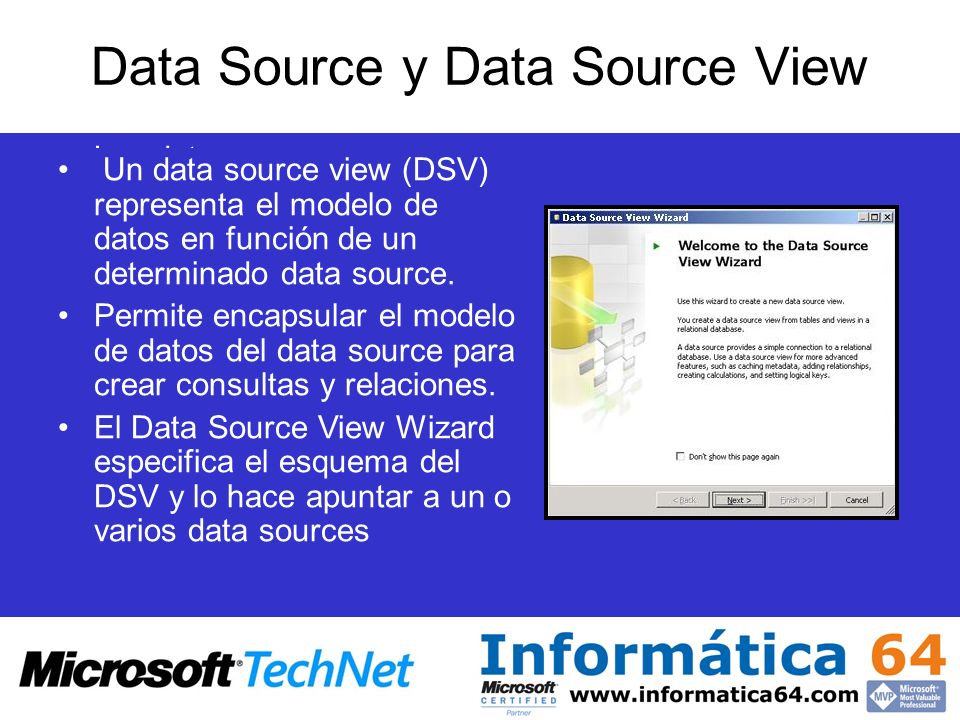 Data Source y Data Source View