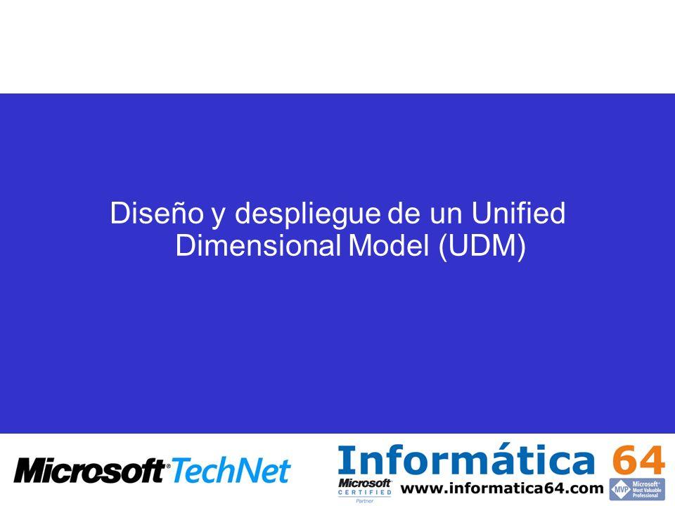 Diseño y despliegue de un Unified Dimensional Model (UDM)