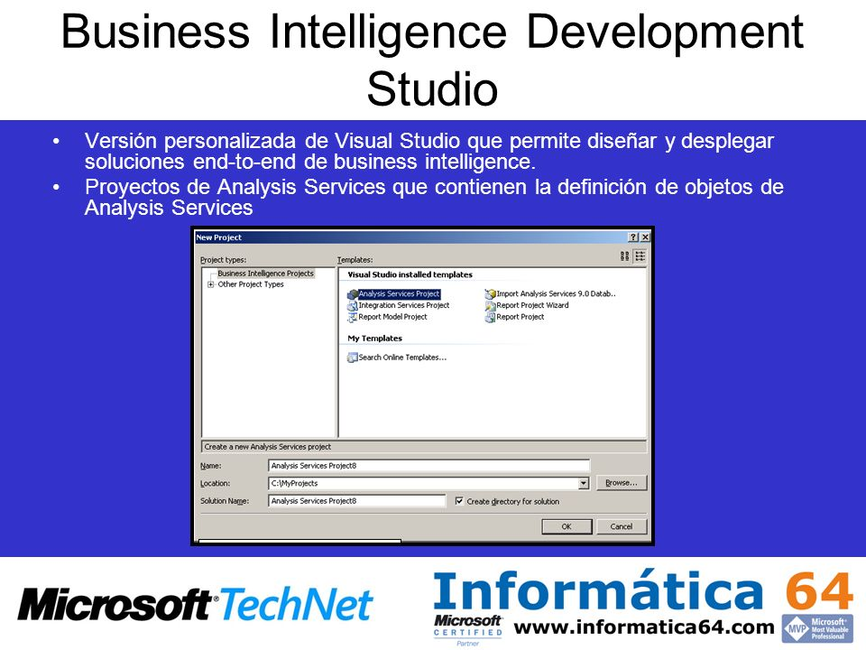 Business Intelligence Development Studio