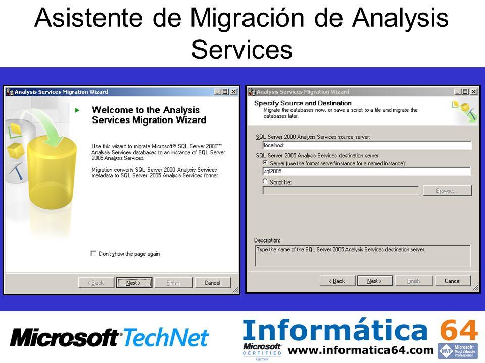 Asistente de Migración de Analysis Services