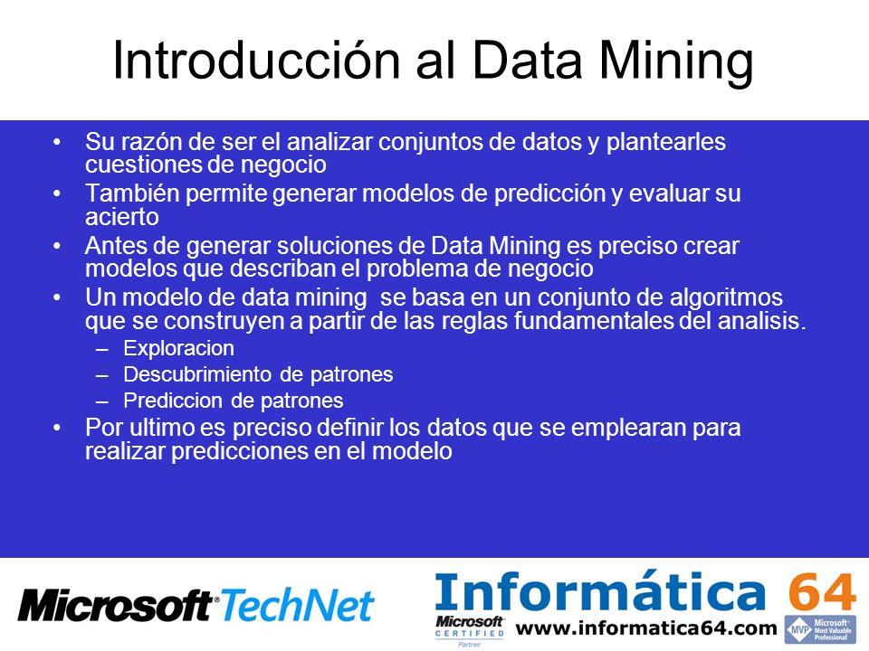 Introducción al Data Mining