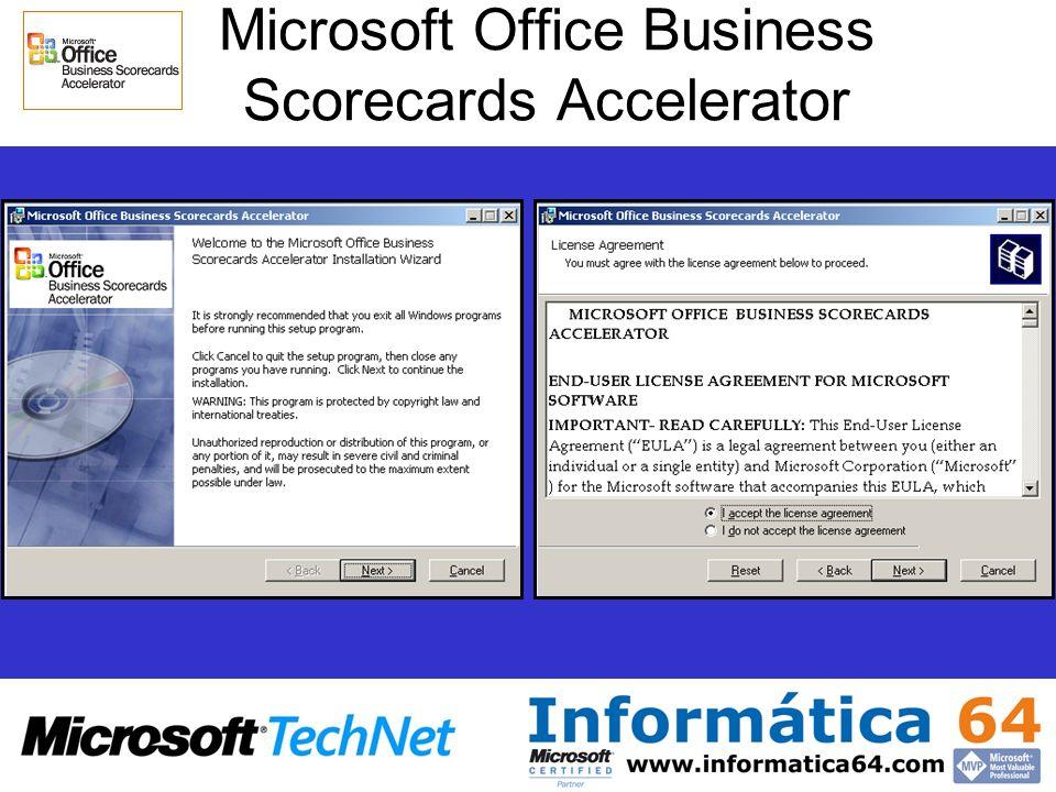 Microsoft Office Business Scorecards Accelerator