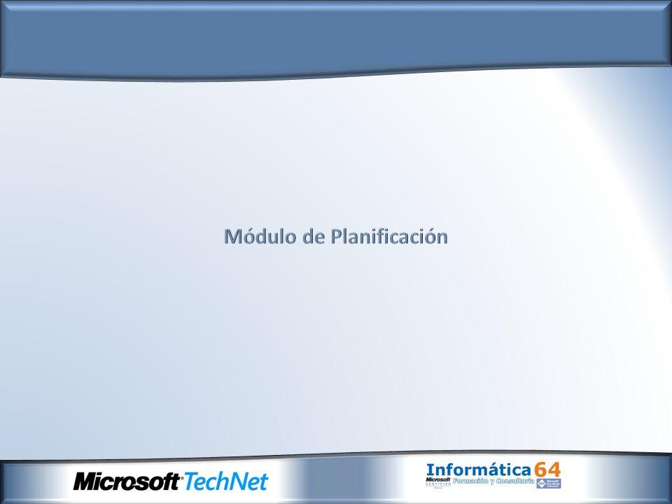Módulo de Planificación