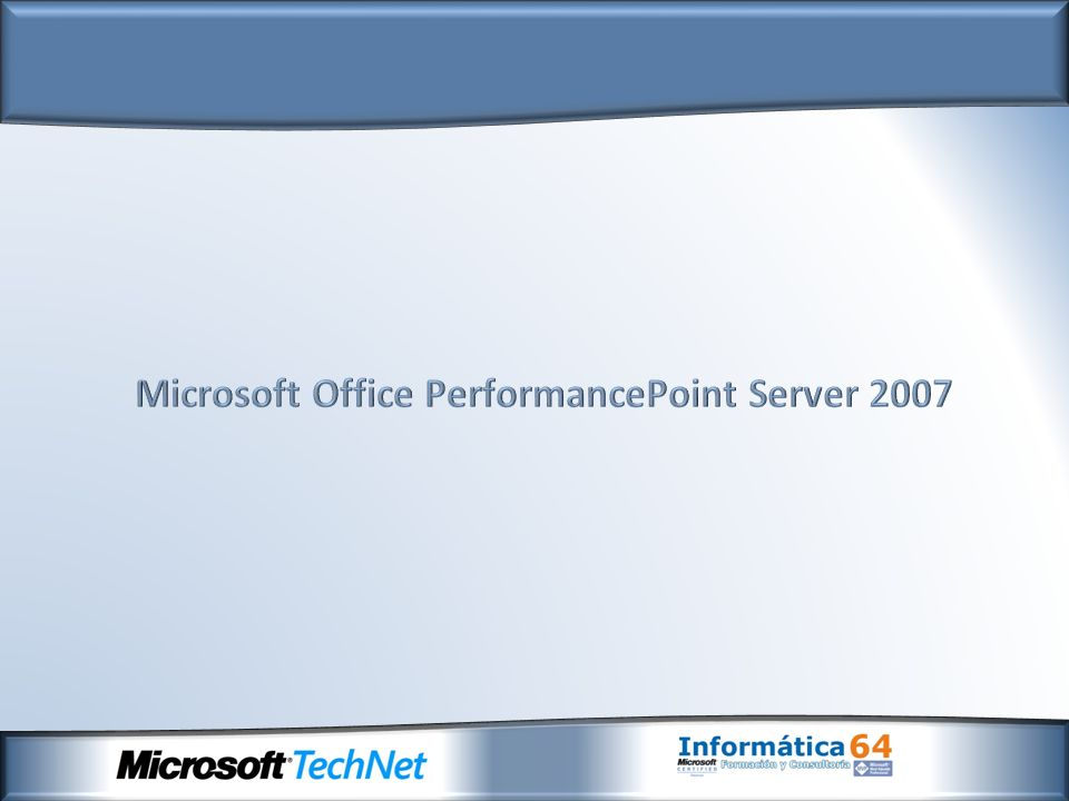Microsoft Office PerformancePoint Server 2007
