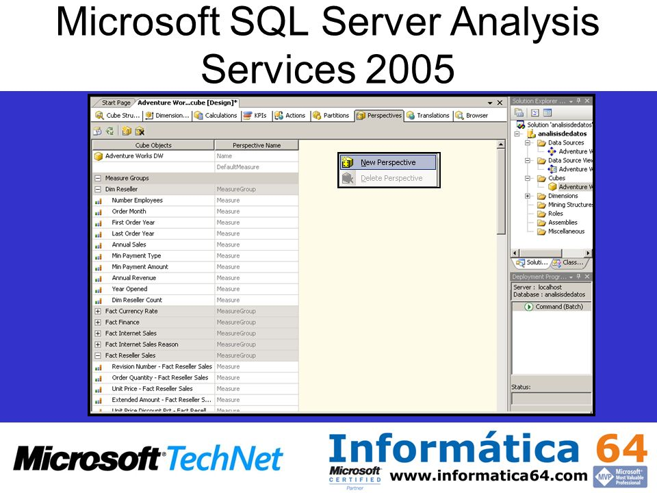 Microsoft SQL Server Analysis Services 2005