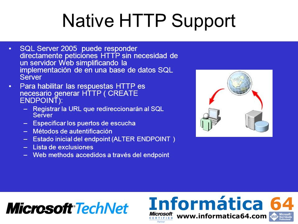 Native HTTP Support