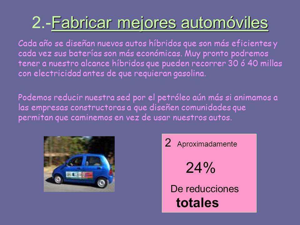 2.-Fabricar mejores automóviles
