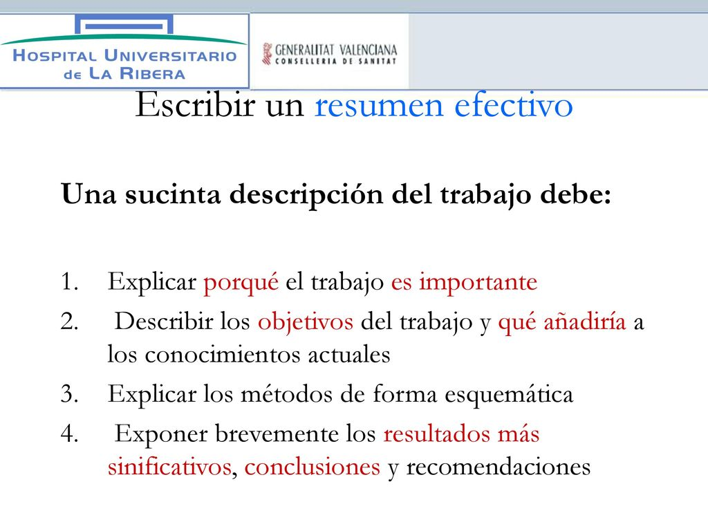 Antonio Guerrero Espejo Publicación y redacción científica - ppt ...