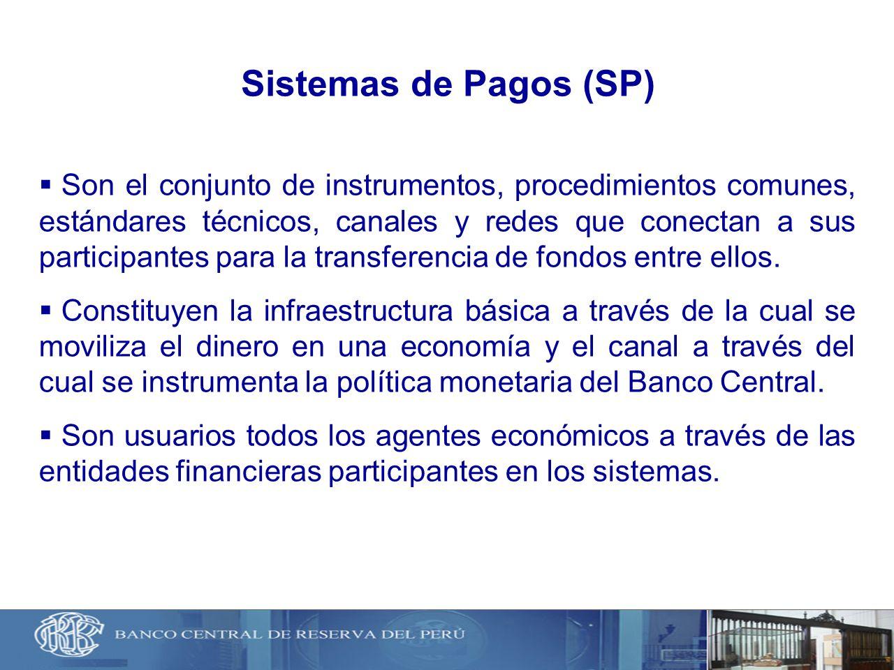 Sistemas de Pagos (SP)