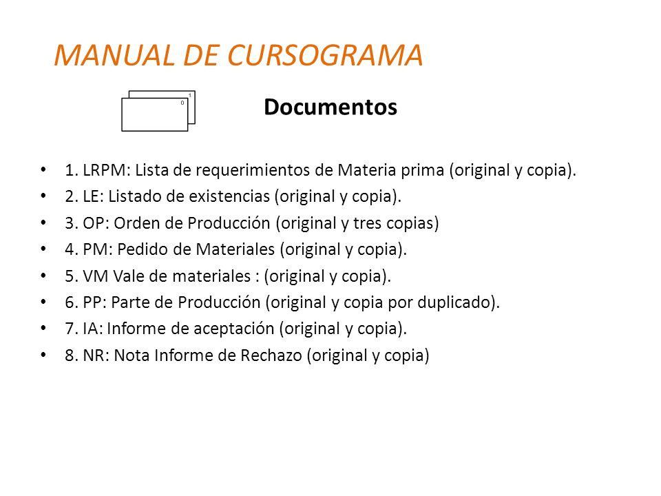MANUAL DE CURSOGRAMA Documentos