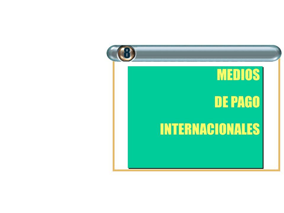8 MEDIOS DE PAGO INTERNACIONALES