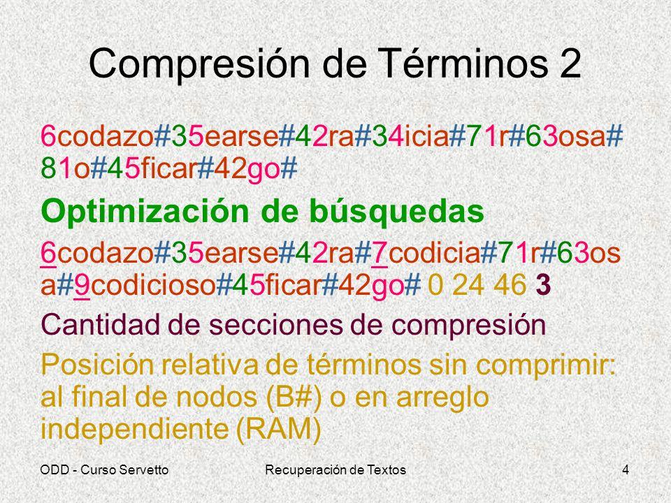 Compresión de Términos 2
