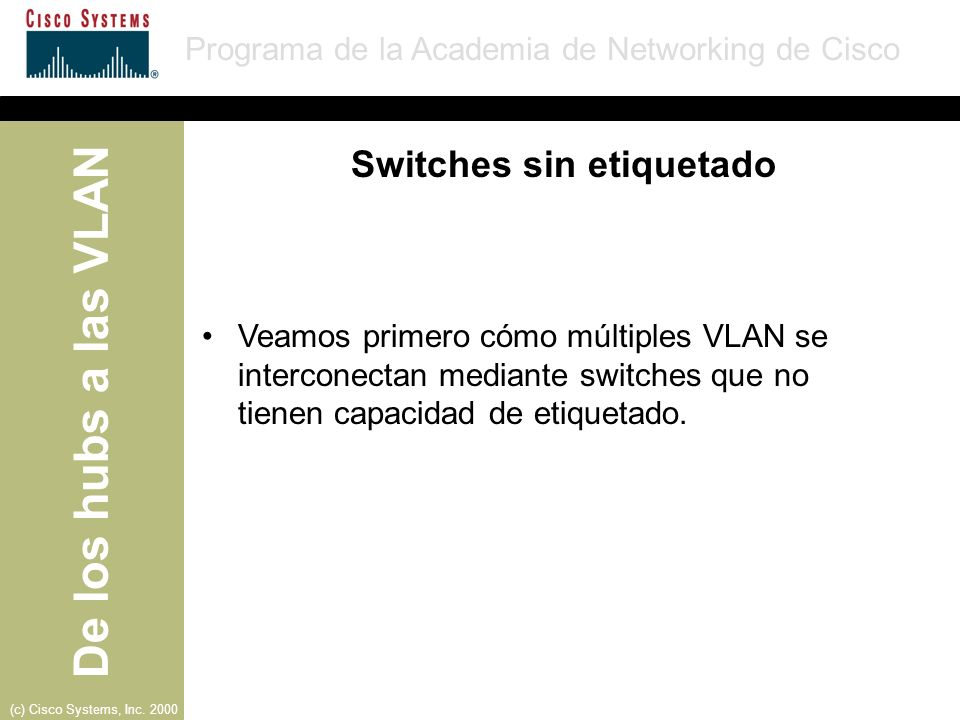 Switches sin etiquetado