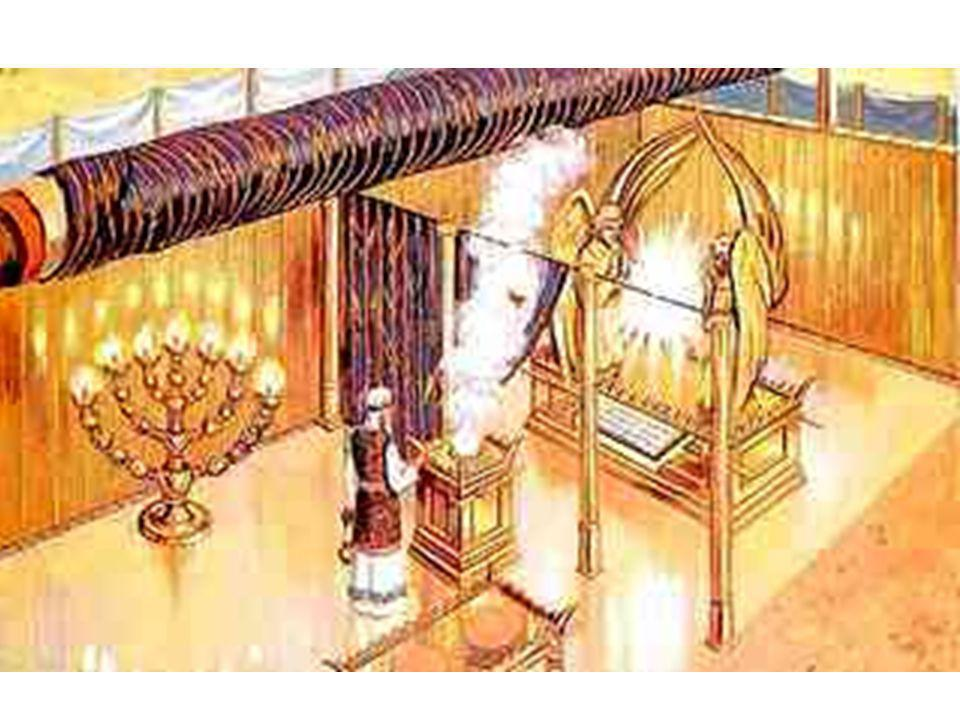 «Además, construirás el Tabernáculo con diez cortinas (los Sephiroth), de lino finamente tejido (Emanación), azul (Creación), púrpura (Formación) y escarlata (Acción): con querubines primorosamente bordados las fabricarás» (Éxodo: 26:1)