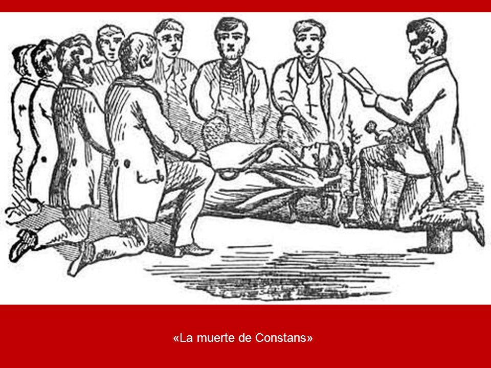 «La muerte de Constans»