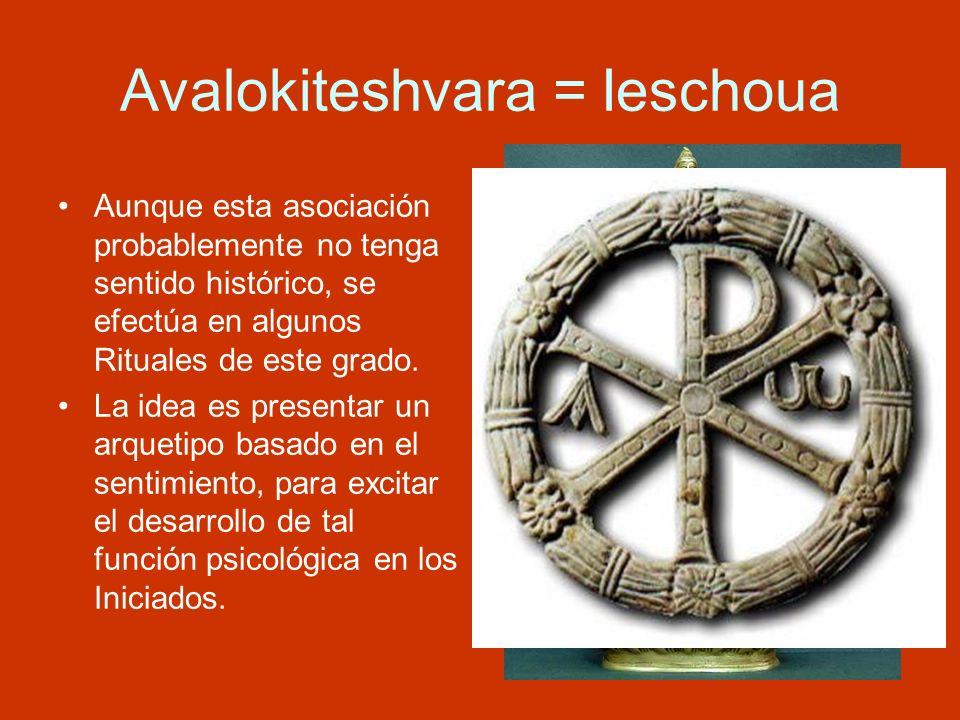 Avalokiteshvara = Ieschoua