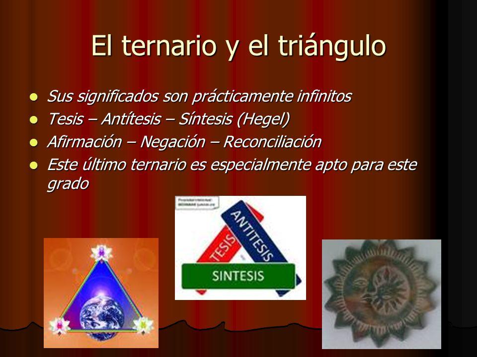 El ternario y el triángulo