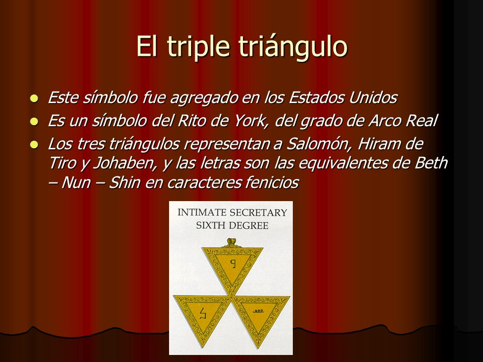 El triple triángulo Este símbolo fue agregado en los Estados Unidos
