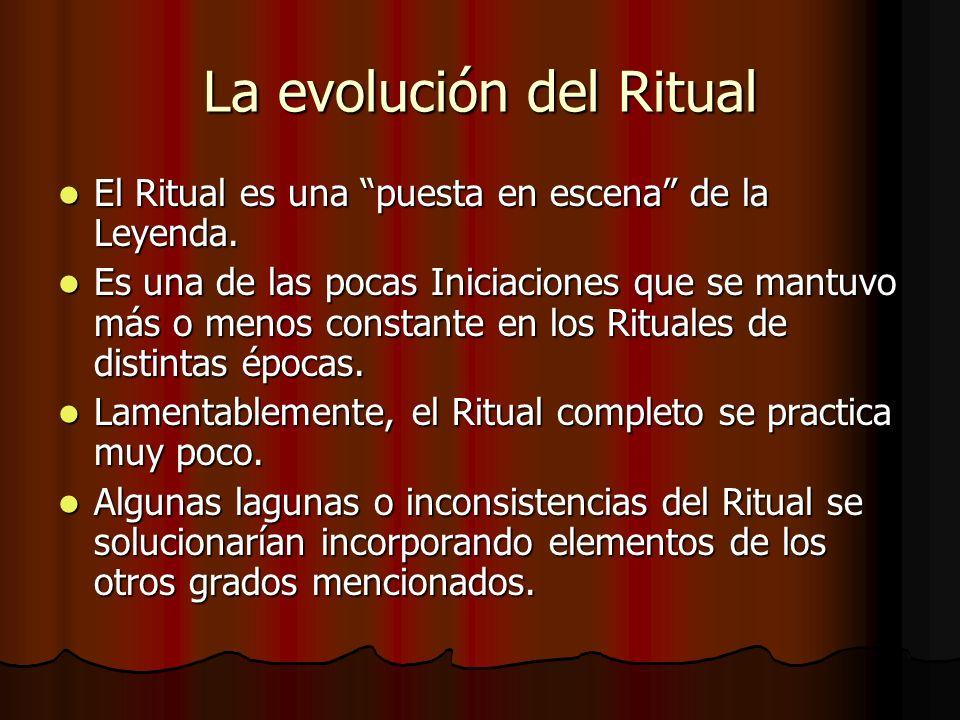 La evolución del Ritual