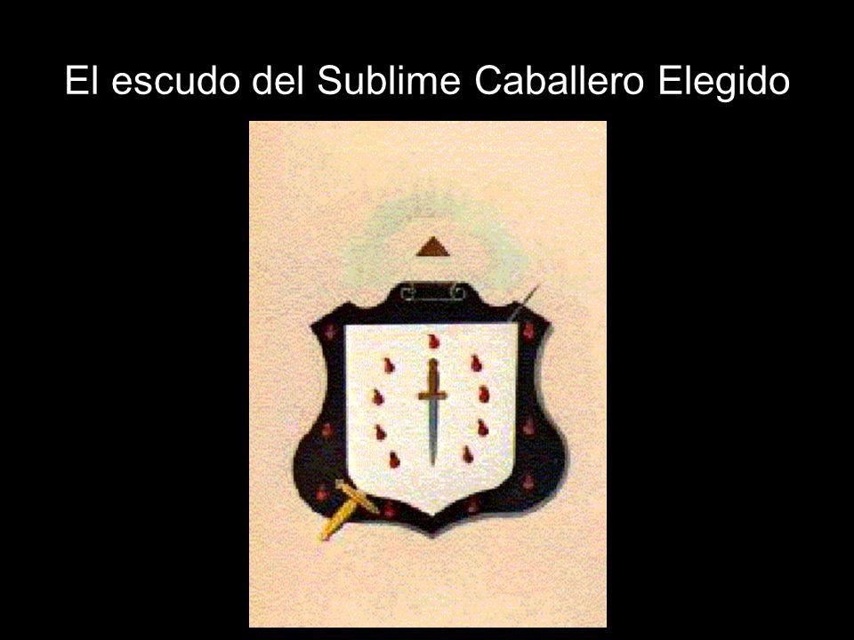 El escudo del Sublime Caballero Elegido
