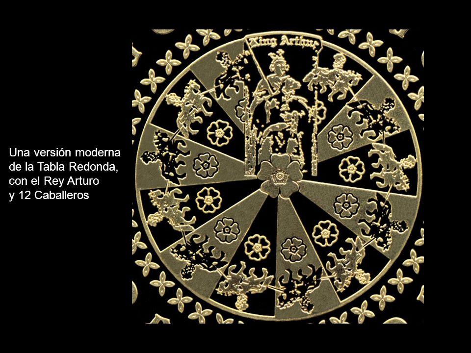 Una versión moderna de la Tabla Redonda, con el Rey Arturo y 12 Caballeros